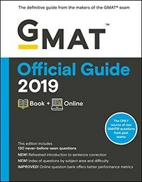GMAT Official Guide 2019: Book + Online (Paperback, 3)