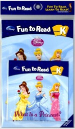 Disney Fun to Read K : What Is a Princess? (Paperback + Workbook + Audio CD)