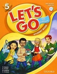 (4판)Let's Go 5: Student Book With CD (Paperback, 4th Edition)
