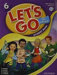 (4판)Let's Go 6: Student Book With CD (Paperback, 4th Edition)
