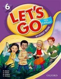 (4판)Let's Go 6: Student Book (Paperback, 4th Edition)