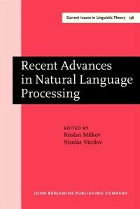 Recent advances in natural language processing : selected papers from RANLP'95