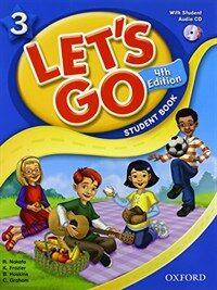 (4판)Let's Go 3: Student Book With CD (Paperback, 4th Edition)