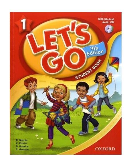 [중고] (4판)Lets Go 1: Student Book With CD (Paperback, 4th Edition)