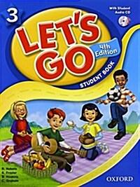 (4판)Lets Go 3: Student Book With CD (Paperback, 4th Edition)