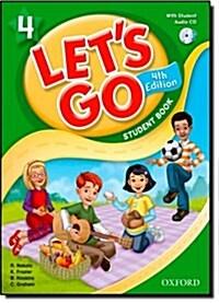 (4판)Lets Go 4: Student Book With CD (Paperback, 4th Edition)