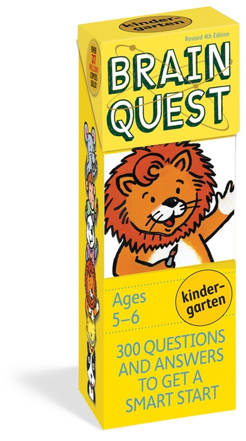 Brain Quest Kindergarten, Revised 4th Edition: 300 Questions and Answers to Get a Smart Start (Other)