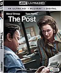 [수입] The Post (더 포스트) (2017) (한글무자막)(4K Ultra HD + Blu-ray + Digital)
