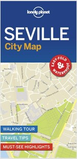 Lonely Planet Seville City Map (Folded)