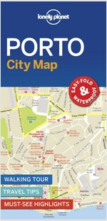 Lonely Planet Porto City Map (Folded)