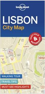 Lonely Planet Lisbon City Map (Folded)