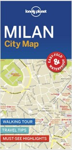 Lonely Planet Milan City Map (Folded)