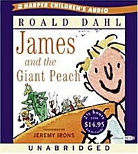 James and the Giant Peach (Audio CD, Unabridged)