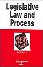 Legislative Law and Process in a Nutshell (Paperback, 3rd)
