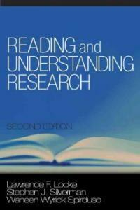 Reading and understanding research 2nd ed
