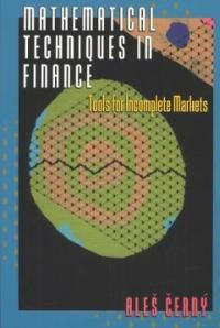 Mathematical techniques in finance : tools for incomplete markets