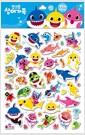 말랑한 핑크퐁 상어 가족 스티커