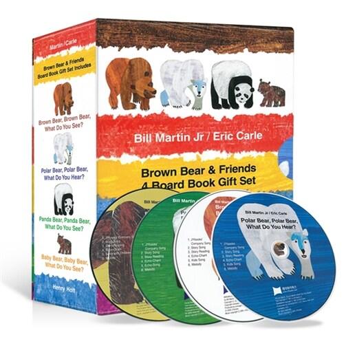 노부영 에릭칼 Bear 4종 세트 (원서4권, 노부영 CD 4장) (4 Board Book + CD)