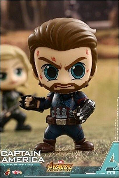 [Hot Toys] 코스베이비 캡틴아메리카 COSB429 - Captain America Cosbaby (S) Bobble-Head