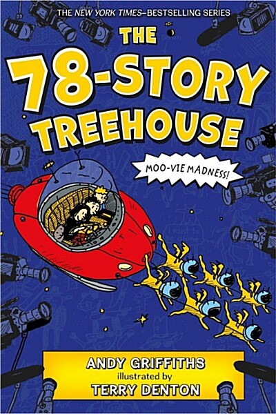 The 78-Story Treehouse: Moo-Vie Madness! (Paperback)