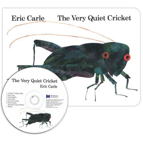 노부영 The Very Quiet Cricket (Board Book + CD, New)