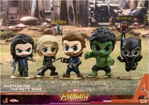 [Hot Toys] 코스베이비 컬렉터블 세트 어벤져스 인피티니워 COSB450 - Avengers: Infinity War Cosbaby (S) Bobble-Head Collectible Set
