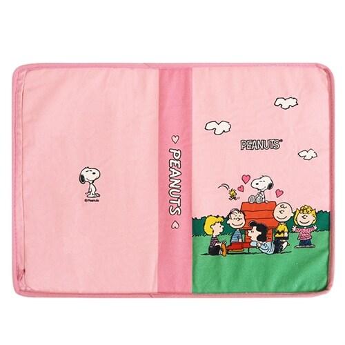 [이벤트 굿즈] 알라딘 메모리폼 책베개(피너츠 핑크 1)