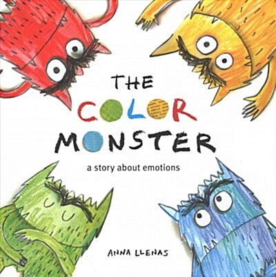 The Color Monster: A Story about Emotions (Hardcover)