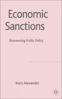 Economic sanctions : law and public policy