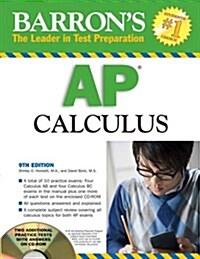 Barrons AP Calculus (Paperback, CD-ROM, 9th)