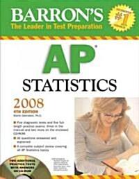 Barrons Ap Statistics (Paperback, CD-ROM, 4th)