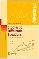 Stochastic Differential Equations: An Introduction with Applications (Paperback, 6, Softcover Repri)