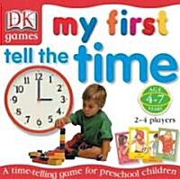 My First Tell the Time Game (Hardcover)