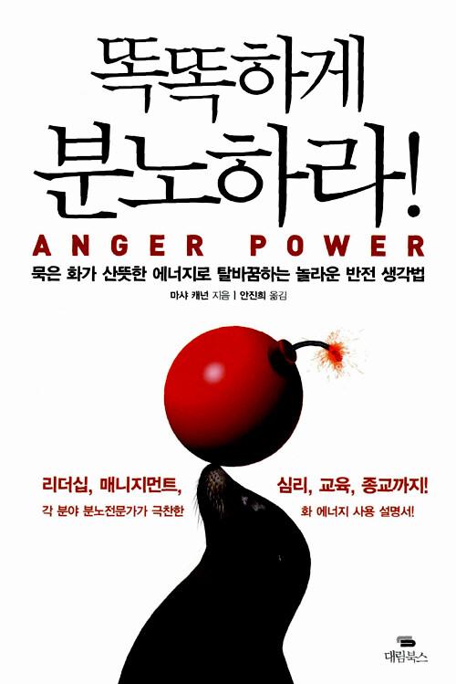 똑똑하게 분노하라! : 묵은 화가 산뜻한 에너지로 탈바꿈하는 놀라운 반전 생각법