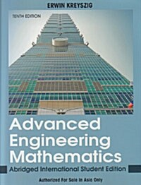 Advanced Engineering Mathematics (10th Edition, Paperback)