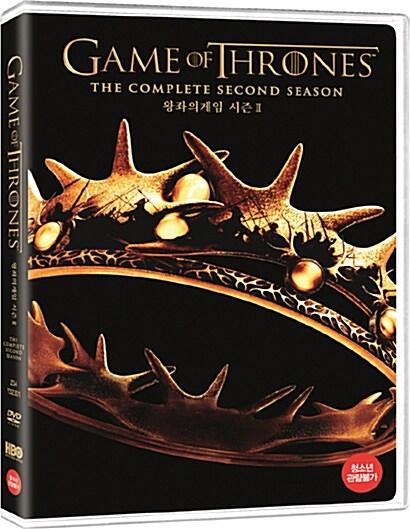 왕좌의 게임 : 시즌2 - 일반판 (5disc)