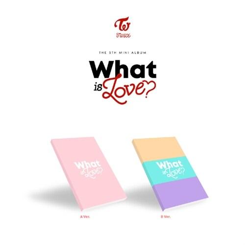 [중고] 트와이스 - 미니 5집 What Is Love? [A/B 버전 중 랜덤발송] (CD알판 9종 중 랜덤삽입)