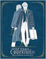 Fantastic Beasts: The Crimes of Grindelwald: Magical Adventure Coloring Book (Paperback)