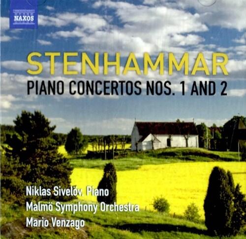 [수입] 스텐함마르 : 피아노 협주곡 1 & 2번