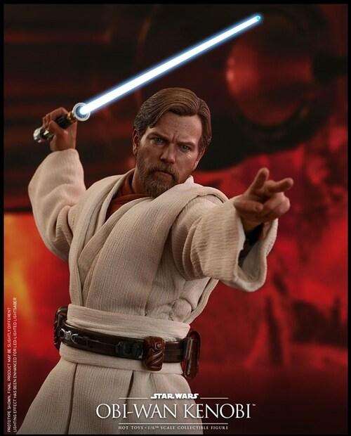 [Hot Toys] 스타워즈 시스의 복수 오비 완케노비(일반 버전) MMS477 - 1/6th scale Obi-Wan Kenobi