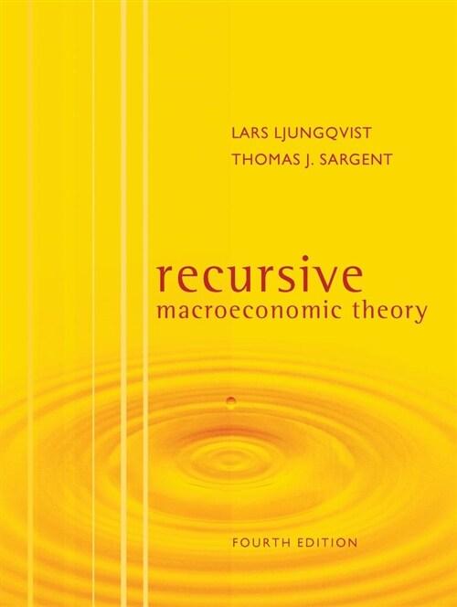Recursive Macroeconomic Theory (Hardcover, 4)