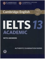 Cambridge IELTS 13 : Academic Student's Book with Answers (Paperback + Downloadable Audio)