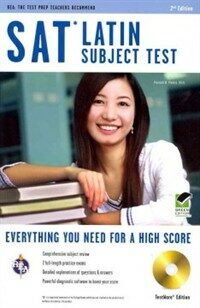 SAT Latin Subject Test, TestWare Edition [With CDROM] (Paperback, 2, Green)