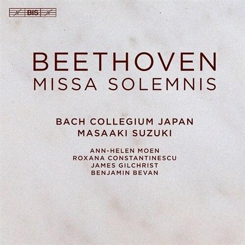 [수입] 베토벤 : 장엄 미사 Op.123 [디지팩 SACD Hybrid]