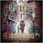 Harry Potter - Diagon Alley : A Movie Scrapbook (Hardcover)