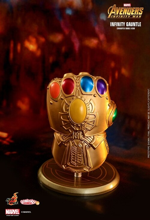 [Hot Toys] 코스베이비 인피니티 건틀렛 COSB463 - Infinity Gauntlet Cosbaby (S) Bobble-Head