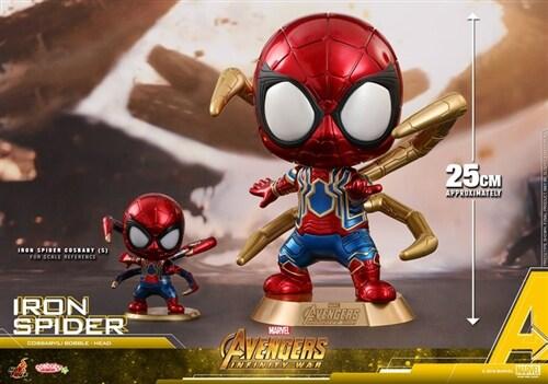 [Hot Toys] 코스베이비 아이언 스파이더맨 COSB459 - Iron Spider Cosbaby (L) Bobble-Head