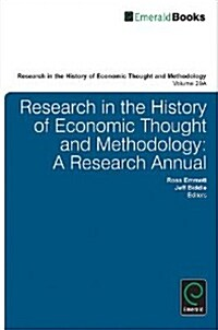 Research in the History of Economic Thought and Methodology (Paperback)