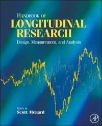 Handbook of longitudinal research : design, measurement, and analysis 1st ed