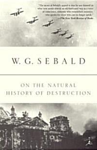 On the Natural History of Destruction (Paperback)